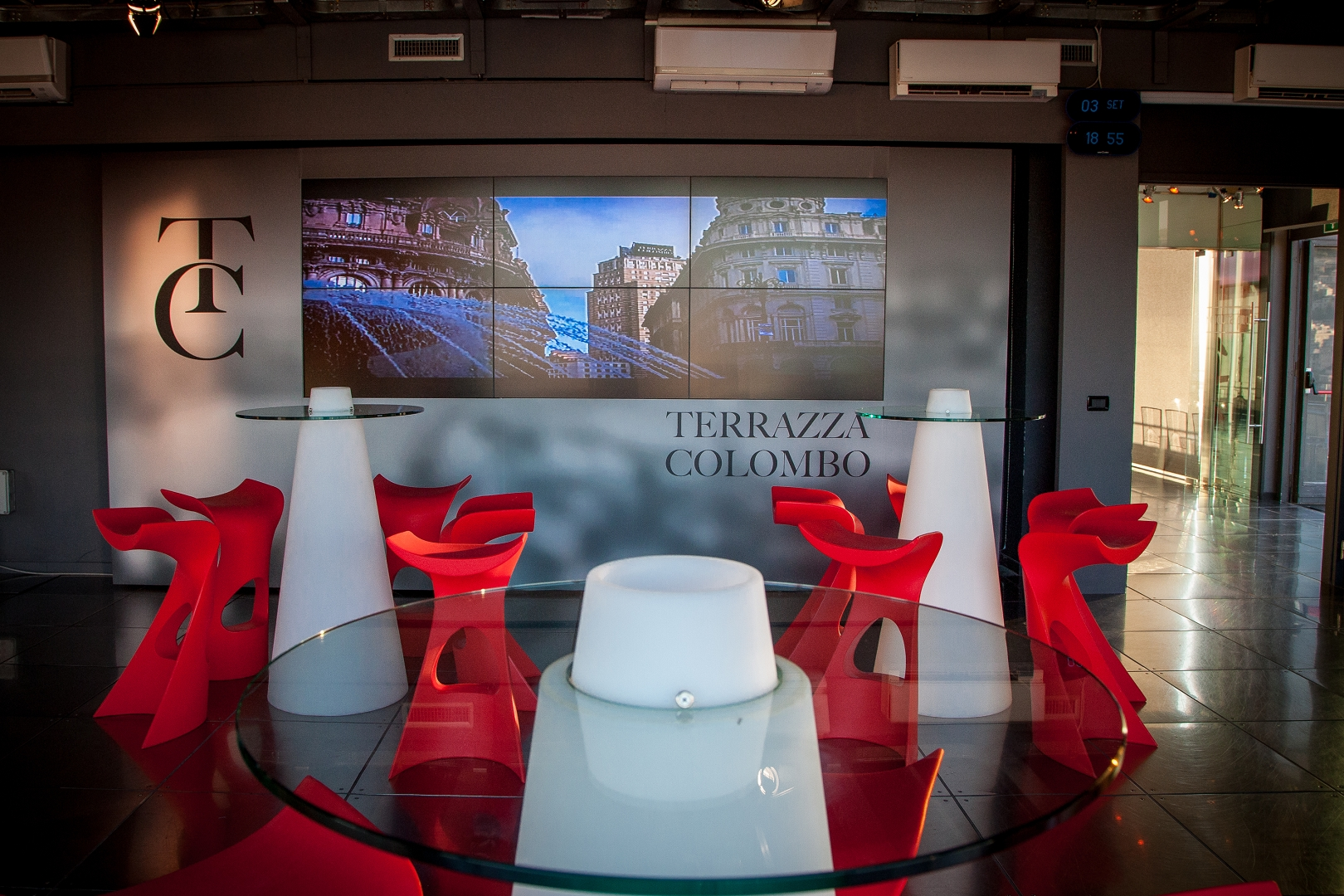 Convention Bureau Genova Terrazza Colombo Venue